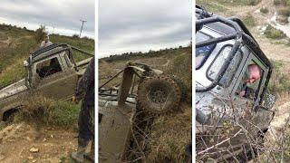 4x4 Flips In Offroad Fail