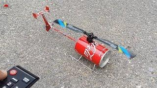 How to make Remote Control Helicopter | DIY Helicopter at home