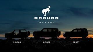 New Ford Bronco Officially Debuts In Spring 2020 What We Know So