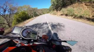Raw and Fast Mountain Ride on 'The Beast' in 2.7k HD | KTM 1290 Super Duke R