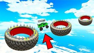 1000% TYRE JUMP CHALLENGE IS VERY DIFFICULT| GTA 5