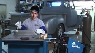 Cotati Speed Shop, Miller Use Diversion™ 180 to Create Aluminum Air Pan for '48 F1 Ford Pickup