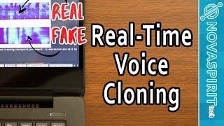 Real-Time Voice Cloning with Deep Learning