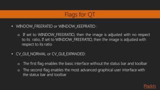 OpenCV 3 by Example : The OpenCVUser Interface and a Basic GUI | packtpub.com