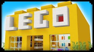 ✔ Making a LEGO Store in Minecraft