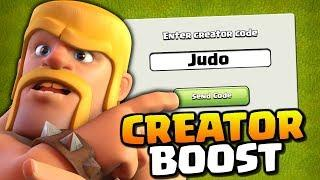 Creator Boost Update! How to use the Content Creator Boost for Supercell Games
