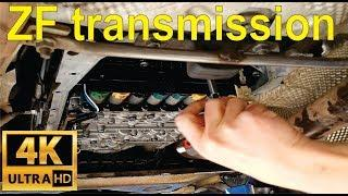 How to change your transmission oil and mechatronics seals on a ZF 6 speed - BMW- Detailed
