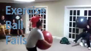 Fitness Ball Fails Compilation