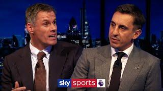Neville & Carragher debate the GREATEST English team of all time! | Monday Night Football