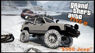 GTA 5 ROLEPLAY - $500 JEEP OFFROAD CHALLENGE - EP. 105 - CIV