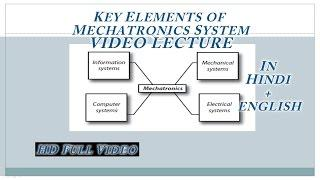 1.1Key elements of mechatronics | Video Lecture in Hindi + English | Full HD