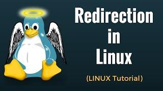 Redirection in Linux - Linux Tutorial 8