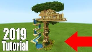 Minecraft Tutorial How To Make A Large Wooden Survival House Ultimate Survival Base