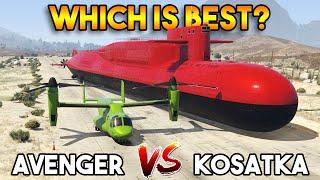 GTA 5 ONLINE : KOSATKA VS AVENGER (WHICH IS BEST?)