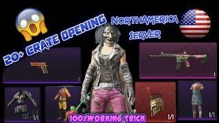20+ Crates Opening in PUBG | BEST SERVER to get mythic items | DITTO GIRL GAMER