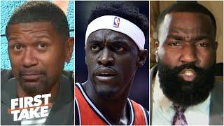'Pascal Siakam is ELITE!' - Kendrick Perkins takes on Jalen & Jacoby   First Take