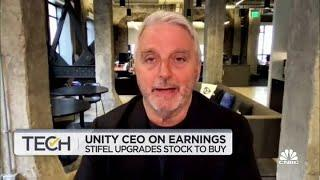 Unity CEO on earnings and the fight between Apple and Epic