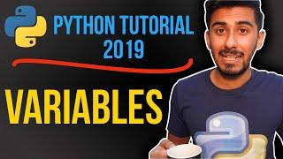 1 - what are variables? (Python tutorial for beginners 2019)