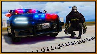 GTA 5 Roleplay - TROLLING COPS WITH SPIKE STRIPS | RedlineRP