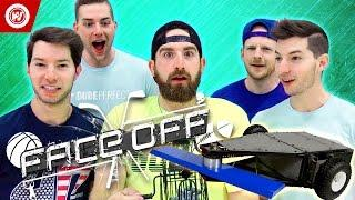 DUDE PERFECT Battlebots Edition | FACEOFF