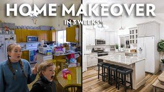Extreme Home Makeover in 3 Weeks! Uplift Mission #1