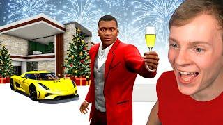 BILLIONAIRE CHRISTMAS PARTY in GTA 5!