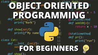 Python Object Oriented Programming (OOP) - For Beginners