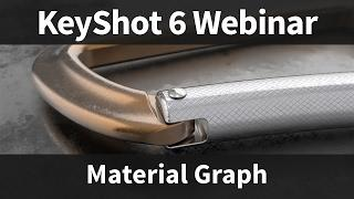 Webinar 57: How to Use the KeyShot Material Graph