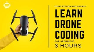 Drone Programming With Python Course   3 Hours   Including x4 Projects   Computer Vision