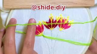 آموزش گلدوزی /  how to embroidery