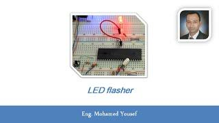 09- PIC microcontroller - LED flasher