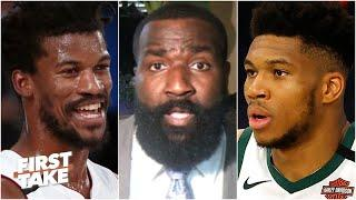 The Heat have the 'recipe' for the Bucks in the playoffs - Kendrick Perkins   First Take