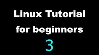 Linux Tutorial for Beginners - 3 - The shell