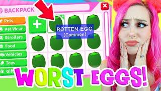 I Opened The Worst Eggs In Adopt Me Trying To Get Legendary Pets Super Lucky Roblox Adopt Me