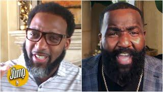 Tracy McGrady and Kendrick Perkins get heated over their NBA bubble predictions   The Jump
