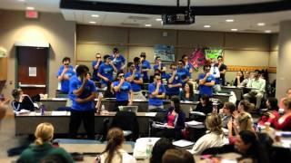 Movember Flash Mob - 'Hammer Time'