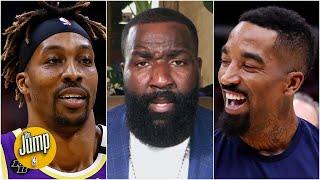 JR Smith is 'a Dwight Howard story in the making' on the Lakers - Kendrick Perkins   The Jump