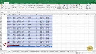 آموزش Pivot table در اکسل