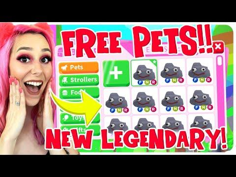 New Free Legendary Pets In Adopt Me Roblox Adopt Me Free Pet Update