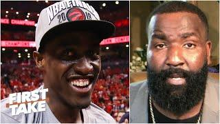 Kendrick Perkins predicts the Raptors to the NBA Finals   First Take