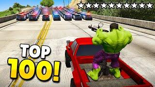 TOP 100 FUNNIEST FAILS & WINS IN GTA 5