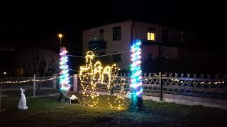 Updata final display Christmas lights (6000 led) in 2018
