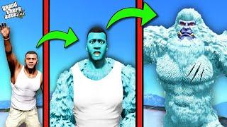 FRANKLIN Become SNOW YETI in GTA 5 [Hindi] | THUGBOI MAX