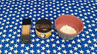 how to make scar wax for halloween sara karimiآموزش ساخت خمیرگریم