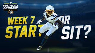 Week 7 Start or Sit? + Matchups to Exploit and Avoid (2020 Fantasy Football)