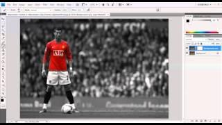 How to make a photo black and white in Photoshop - آموزش فتوشاپ