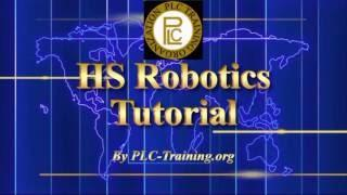 Industrial Robotics Tutorial (Arm & Programming)