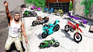Collecting QUINTILLIONAIRE SUPER BIKES in GTA 5!