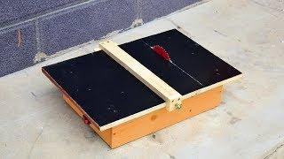 How to make Powerful Table Saw 24volt With 775 Motor
