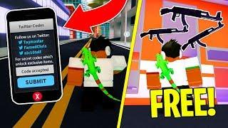All New Codes In Mad City Roblox All Codes In Mad City Free Gun Skin Roblox